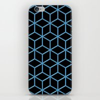 Cubes iPhone & iPod Skin
