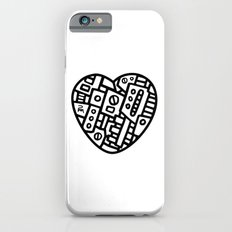 Iron heart (B&W Edition) - PM Slim Case iPhone 6s