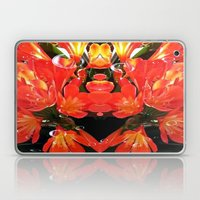 Flowers with Raindrops Laptop & iPad Skin