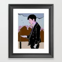 Rainman Framed Art Print