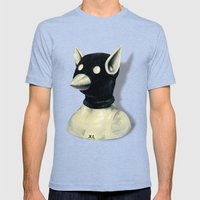 Bandit Hat Mens Fitted Tee Tri-Blue SMALL