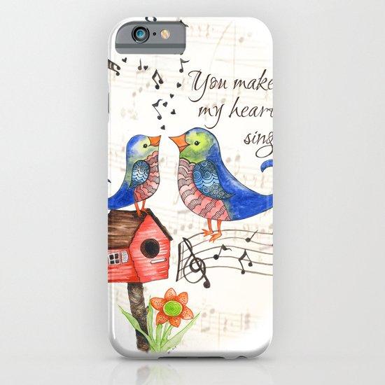 Blue Bird iPhone & iPod Case