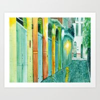 Pirate's Alley New Orleans Art Print