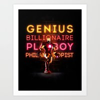 Iron Man: Genius Billion… Art Print