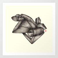 Paperoll Art Print