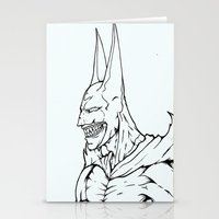 The Undead Bat Stationery Cards