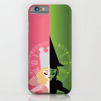 iPhone Cases featuring Are You a Good Witch or a Bad Witch? by Love Ashley Designs