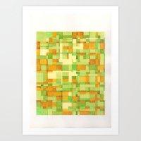 color field_03 Art Print