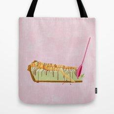 Pink Pie Tote Bag