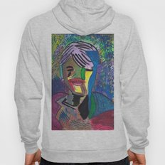 Abstract Portrait 1 Hoody
