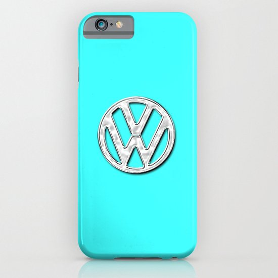 VW teal iPhone & iPod Case