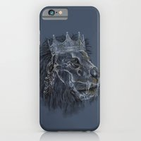 iPhone & iPod Case featuring king forever by Alan Maia