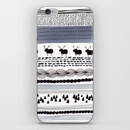 Pattern / Nr. 1 iPhone & iPod Skin