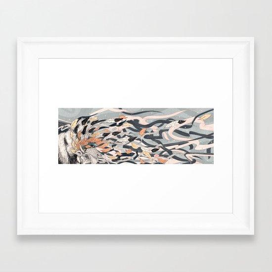 Magic Breeze Framed Art Print