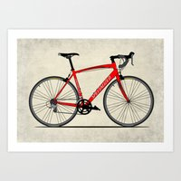 Specialized Racing Road … Art Print