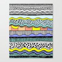 NATIVE WAVES Canvas Print