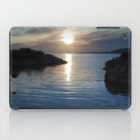 Evening At Trawenagh Bay… iPad Case