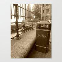 London Trash Talk Canvas Print