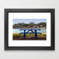 Relax! Framed Art Print