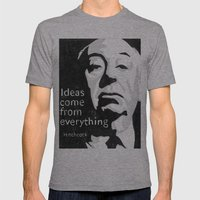 Ideas come from everything Mens Fitted Tee Athletic Grey SMALL