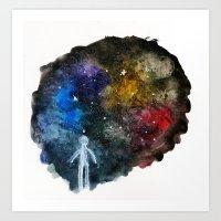 The Wonder of Space Art Print