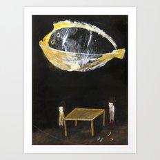 Amphibious Dream I Art Print