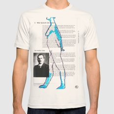 Carl Gustav Jung – Nude.1 Mens Fitted Tee Natural SMALL