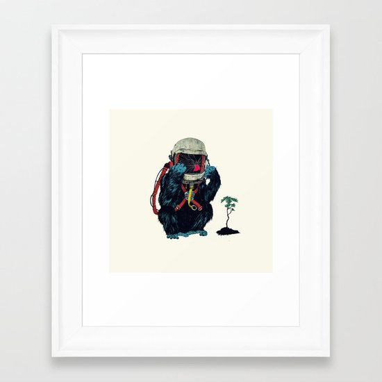 Clams Framed Art Print