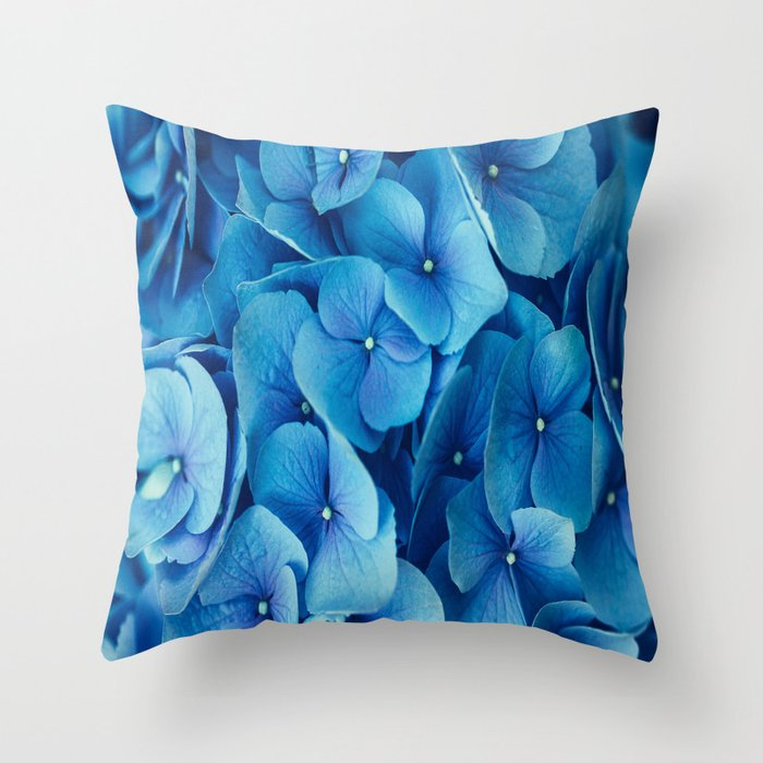 French Blue Throw Pillows : French Blue Throw Pillow by The Dreamery Society6