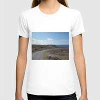 The Long Road Womens Fitted Tee White SMALL