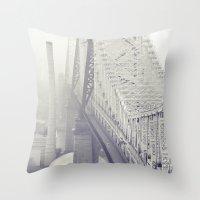 59th Street Bridge... Throw Pillow