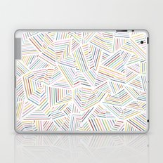Abstraction Linear Rainbow Laptop & iPad Skin