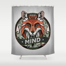 Mind Shower Curtain