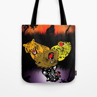 Big Cat Safari Tote Bag