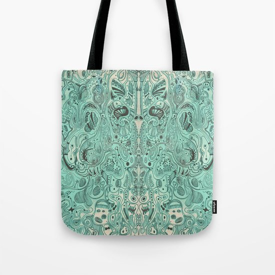 Histological section of my inner world (#4) Tote Bag