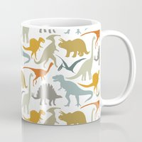 Dinosaur Friends Mug