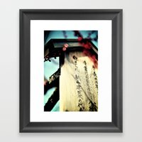Sakura in the Spring, Kyoto Framed Art Print