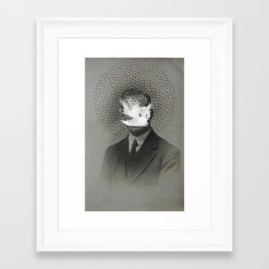 Obscured Framed Art Print