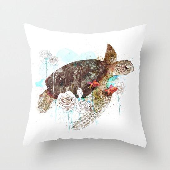 Tortuga Throw Pillow