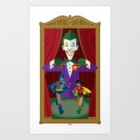 Joker's Theater Art Print