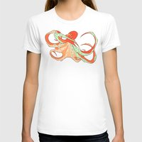 octopus T-shirts featuring Octopus by Jemma Salume