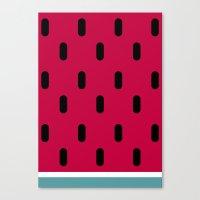 Watermelon Canvas Print