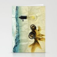 Fish Eyed Lens 03 Stationery Cards