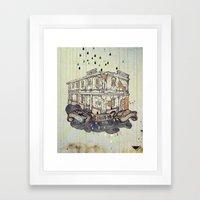 Beautiful Building In Gr… Framed Art Print