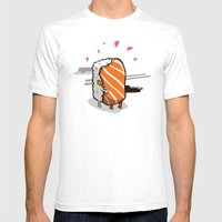 Love.  Mens Fitted Tee White SMALL