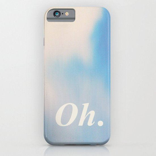 Oh. Lightness iPhone & iPod Case