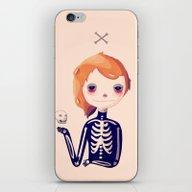 iPhone & iPod Skin featuring Bones by Nan Lawson
