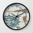 Sidewalk Tiles Wall Clock