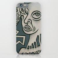iPhone & iPod Case featuring Schizogenic by Jon Duci