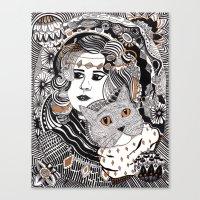 Capable Cat Canvas Print